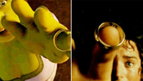shrek lord of the rings