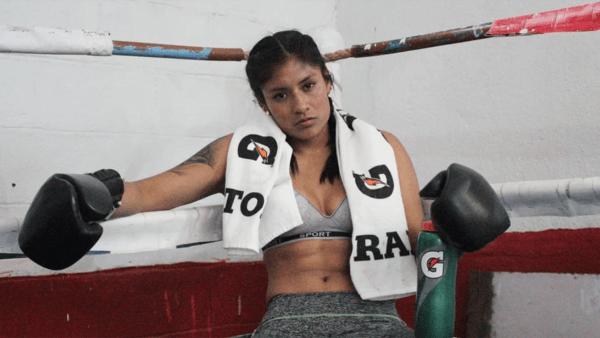 Esmeralda Falcón boxeadora