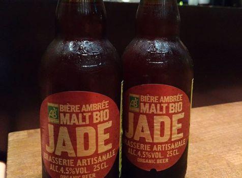 オーガニックビール(Organic Beer) JADE アンバー