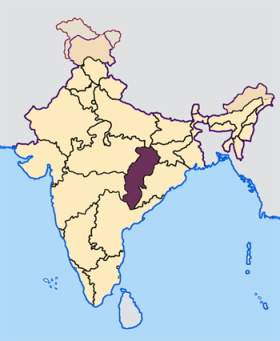 Chhattisgarh_in_India