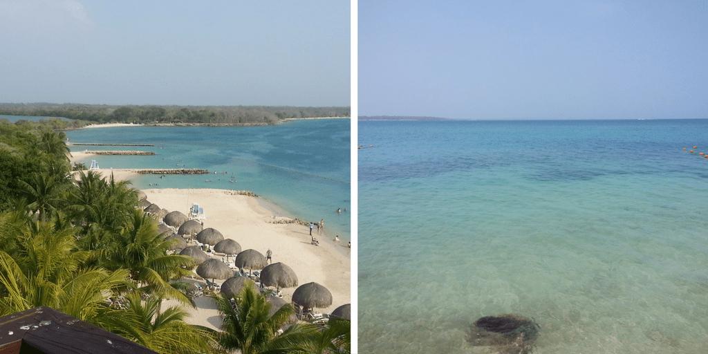 playas en Isla Barú