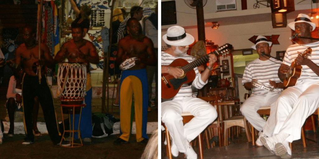 Vida nocturna en Buzios - Capoeira y Bossa Nova