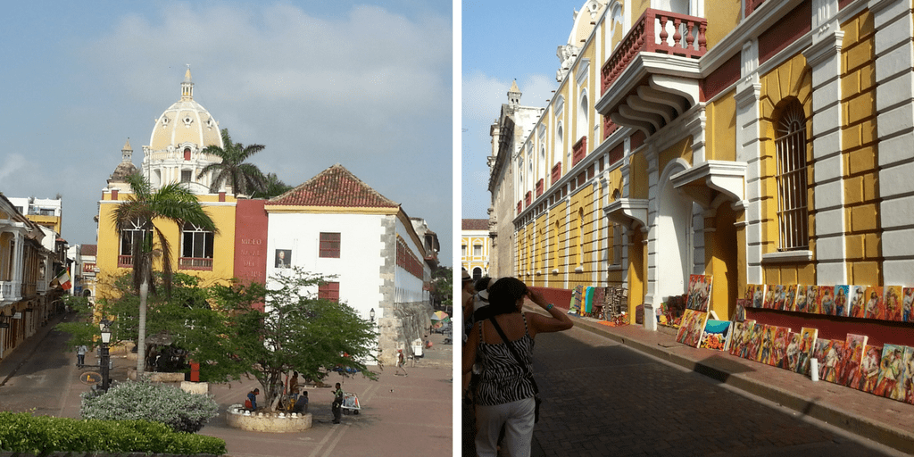 Caminando por Cartagena de Indias
