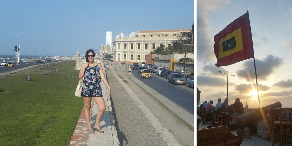 Atardecer Cartagena de Indias - Café del Mar