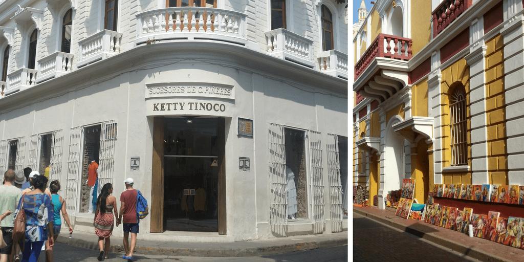 de compras en Cartagena de Indias