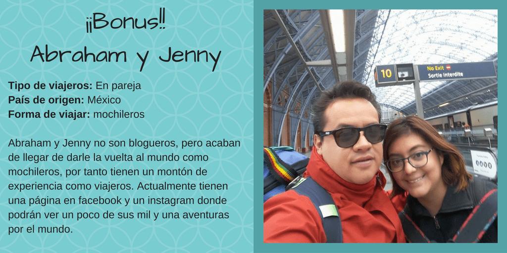 Indispensables Bonus Abraham y Jenny