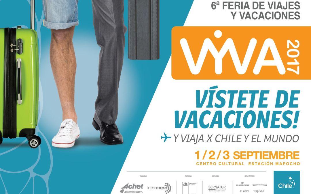 VYVA 2017: 6ª versión Feria de Viajes y Vacaciones, lo que no te puedes perder