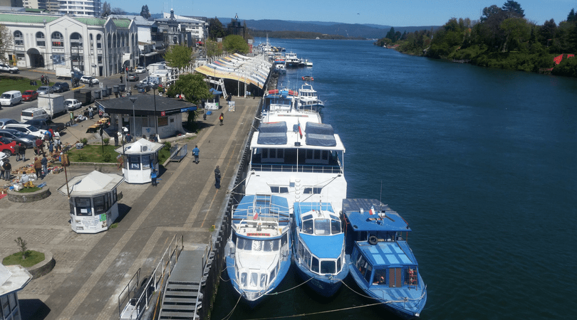 Valdivia: a river fairytale city at southern Chile