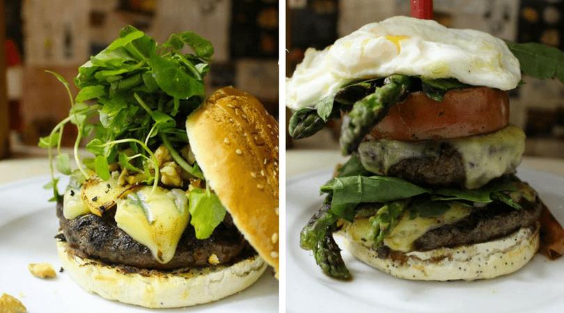 Imposible quedar con hambre con estas riquísimas burgers