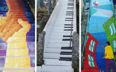 Las más lindas escaleras de Valparaíso y cómo llegar a ellas