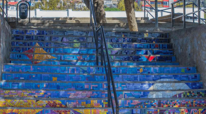 Escalera Plaza de los Poetas (3)