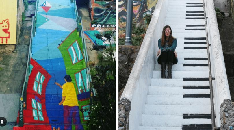 Escalera pasaje Gálvez / Escalera Piano