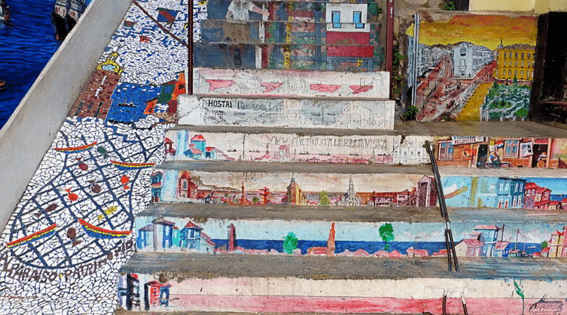 Escalera Santa Lucía
