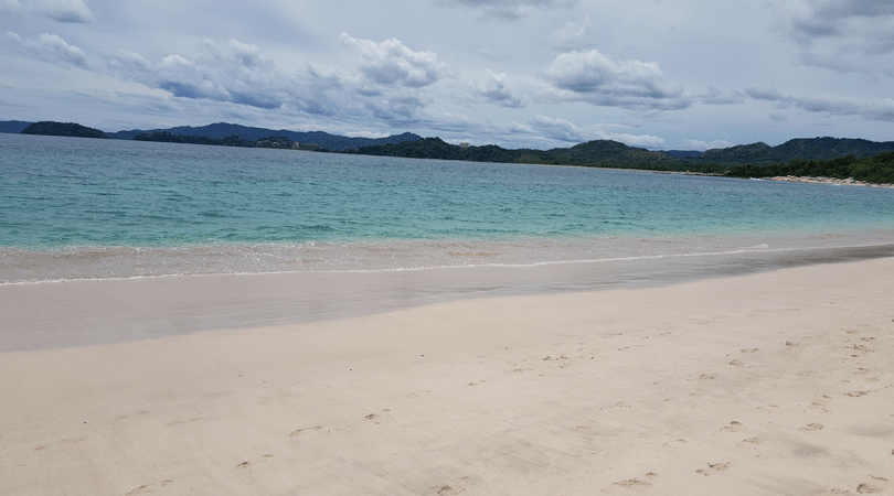Playa Conchal, mi absoluta favorita