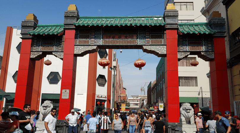 El caos permanente del Barrio Chino