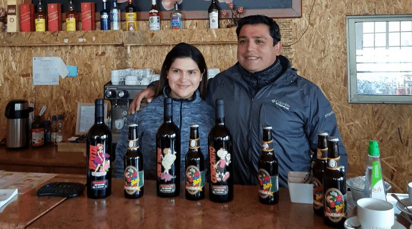 """Lizardo Navarro y su hermana, dueños del """"Roto Quezada"""""""