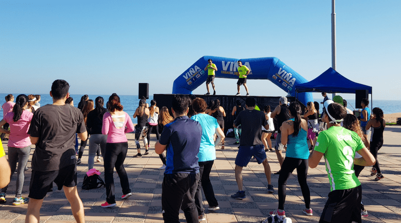 Clases gratuitas en la Playa del Deporte