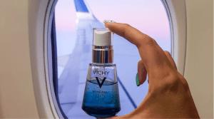 Cómo cuidar la piel en vuelos largos, Mineral 89 de Vichy
