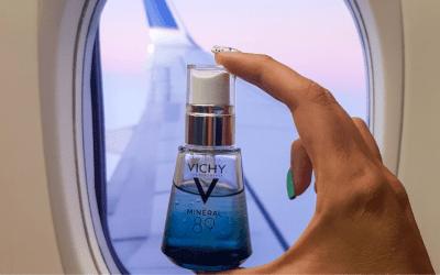 Vichy nos cuenta cómo proteger la piel en vuelos largos y los factores que la dañan