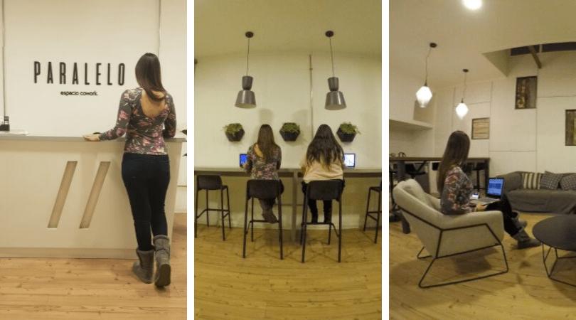 Los espacios de Paralelo Cowork son amplios, cómodos, luminosos y con buen wifi