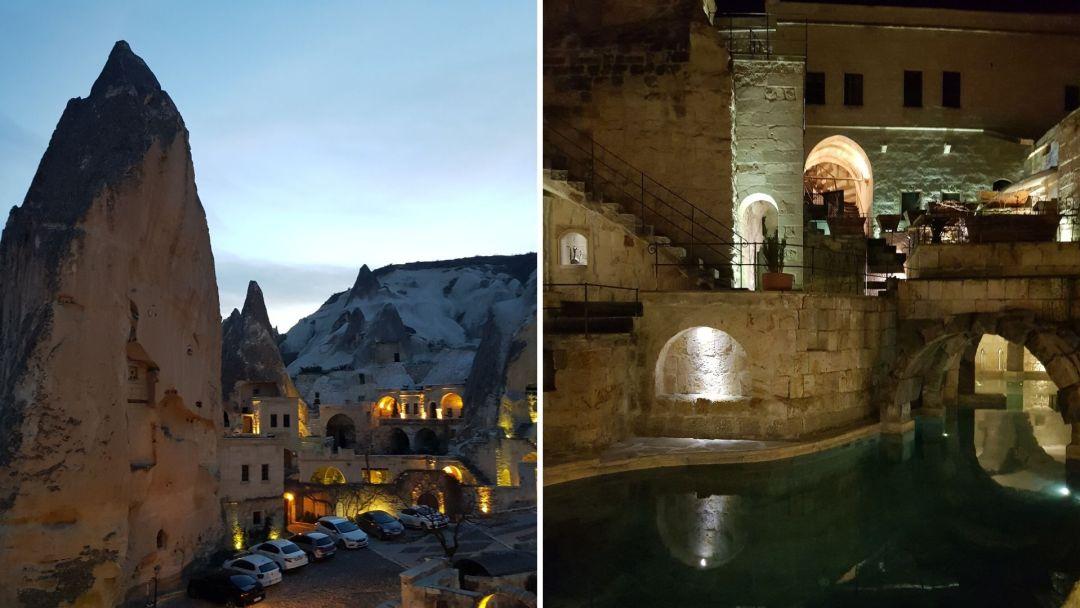 Este hotel/cueva era soñadísimo