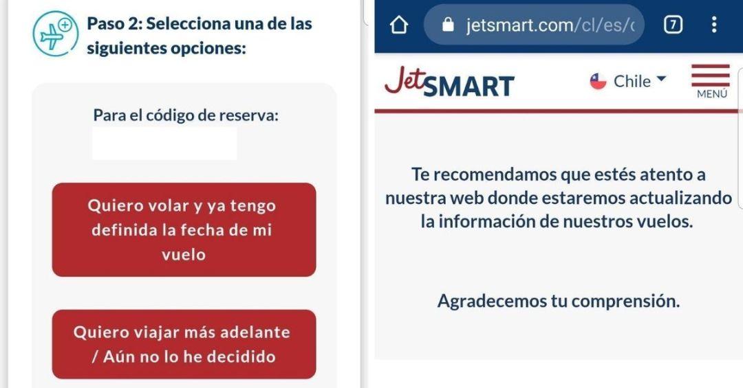 Flexibilidad en Jetsmart