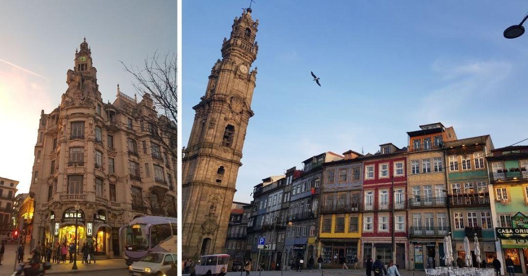 La arquitectura de la ciudad en conjunto con sus azulejos te sorprenderà