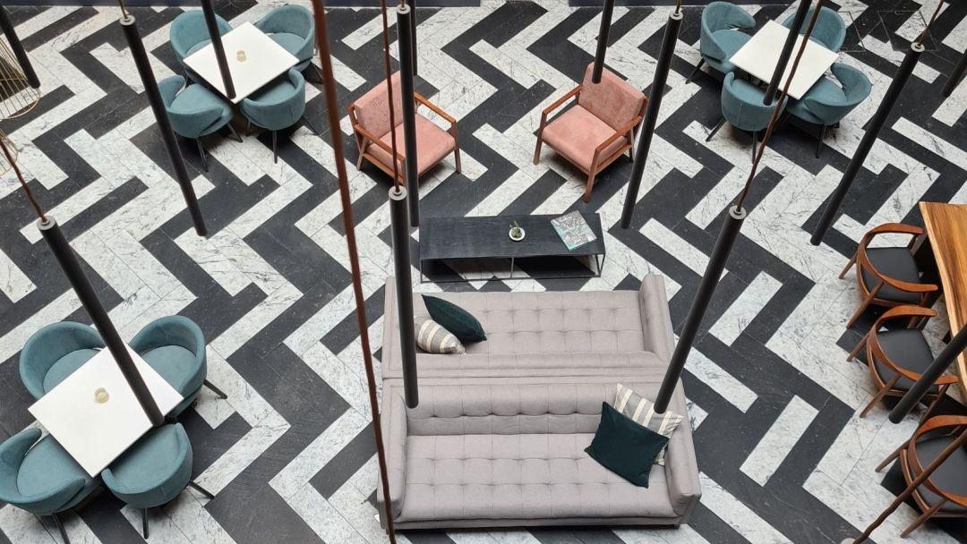 La decoración es uno de los puntos más llamativos de City Centro CDMX