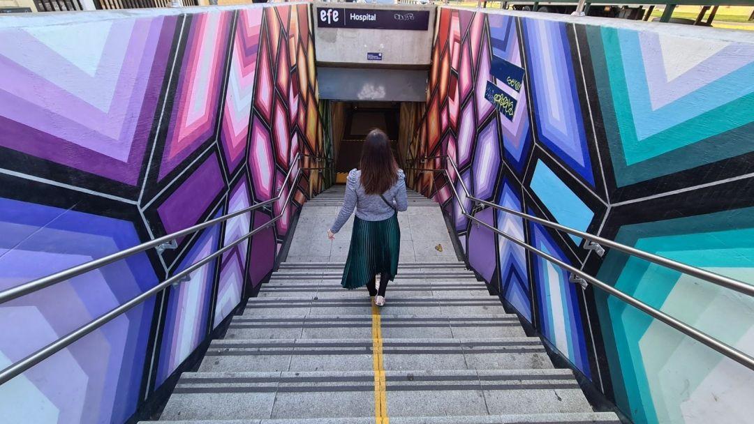 Conoce los murales de metro de Viña del Mar