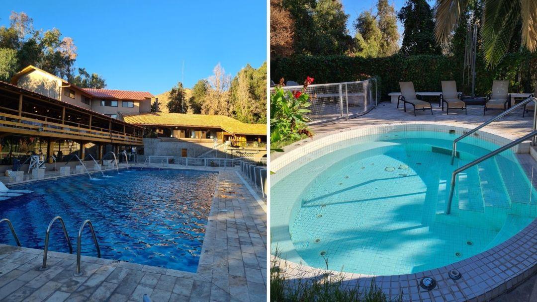 En las piscinas e hidromasajes exteriores no requieres reservar y suele haber menos gente