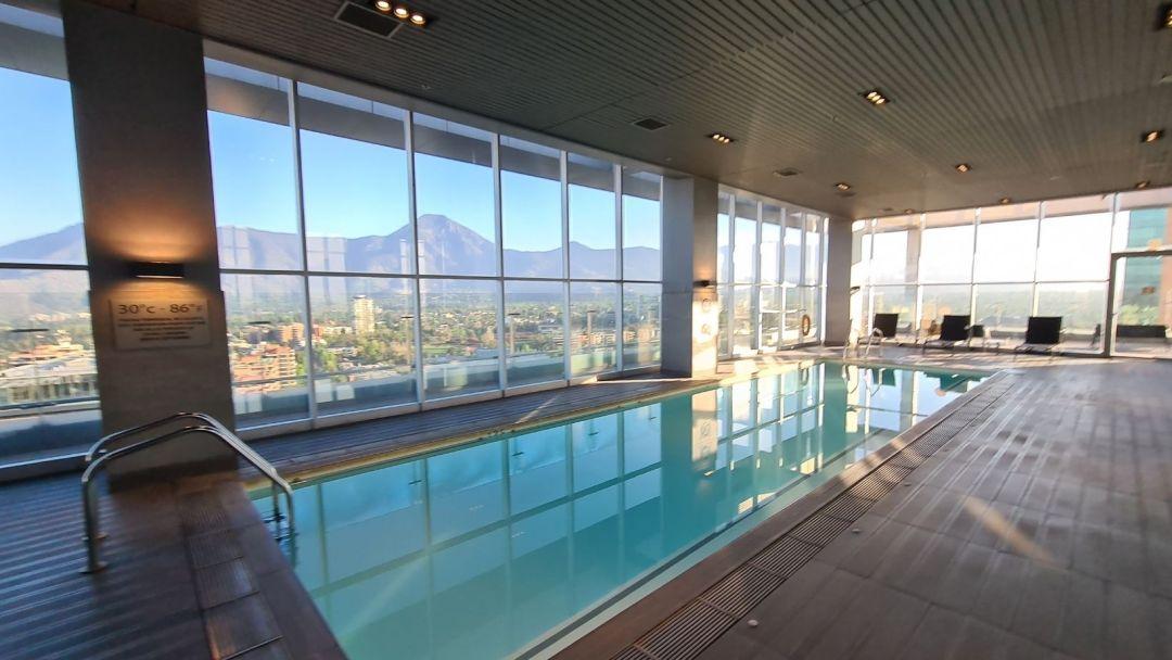 La sorprendente piscina climatizada