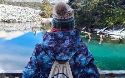 Consejos para visitar parque Conguillío en invierno: Araucanía Andina de blanco