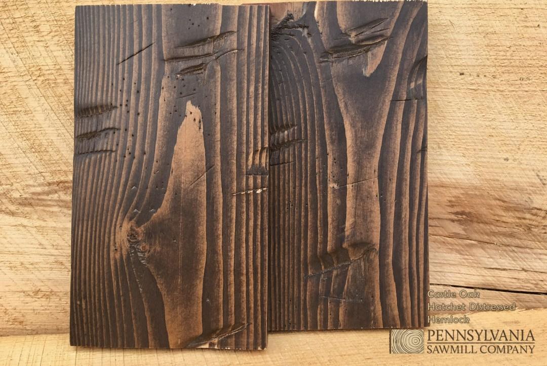 Hemlock - Hatchet Distressed w/ Castle Oak