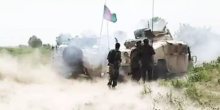 درگیری میان نیروهای امنیتی و طالیان