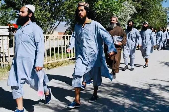 Dangerous Taliban prisoners