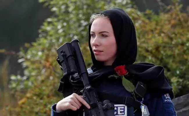 The hijab was added to the New Zealand police uniform