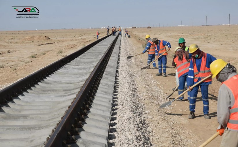 Construction of Andkhoy Aghineh iron line