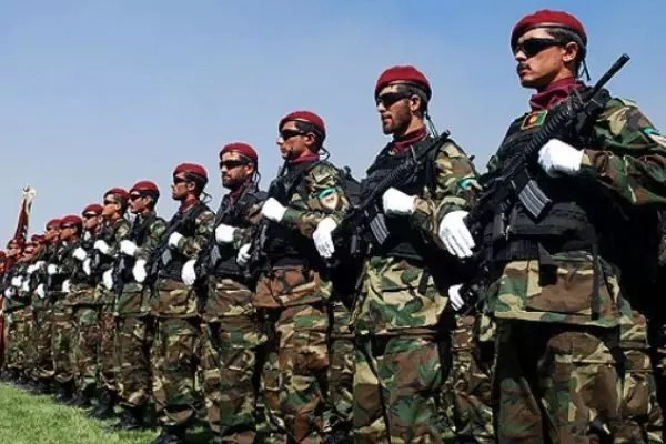 115 million Turkish lira assistance for training Afghan security forces