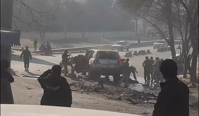 Explosion in Kabul