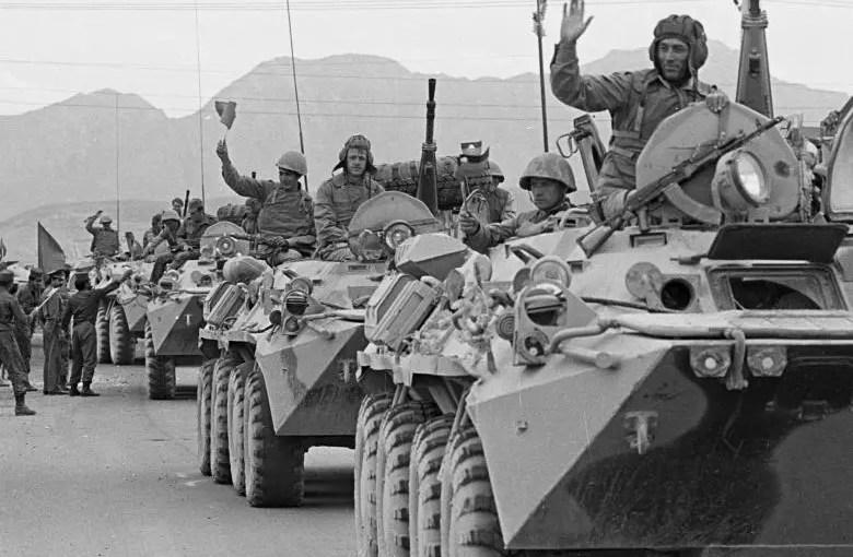 خروج شوروی از افغانستان