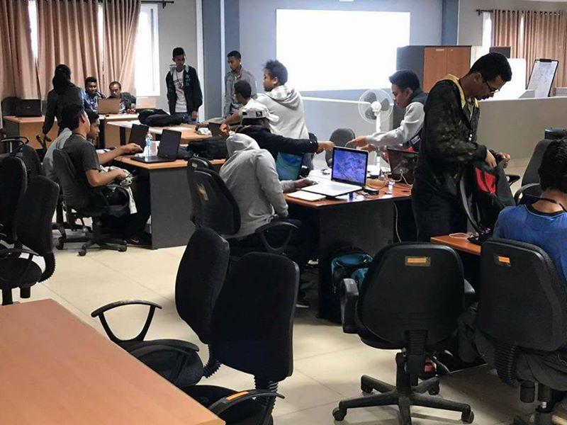 Les équipes de la #WebCup Madagascar s'installent