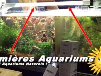 lumière et éclairage aquariums