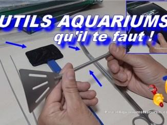 Les outils que tout aquariophile devrait selon moi avoir !