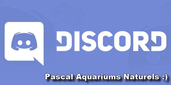 discord pascal aquariums naturels