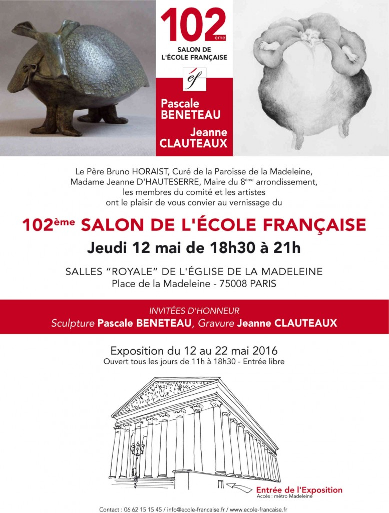 Salon de l'Ecole Française 2016