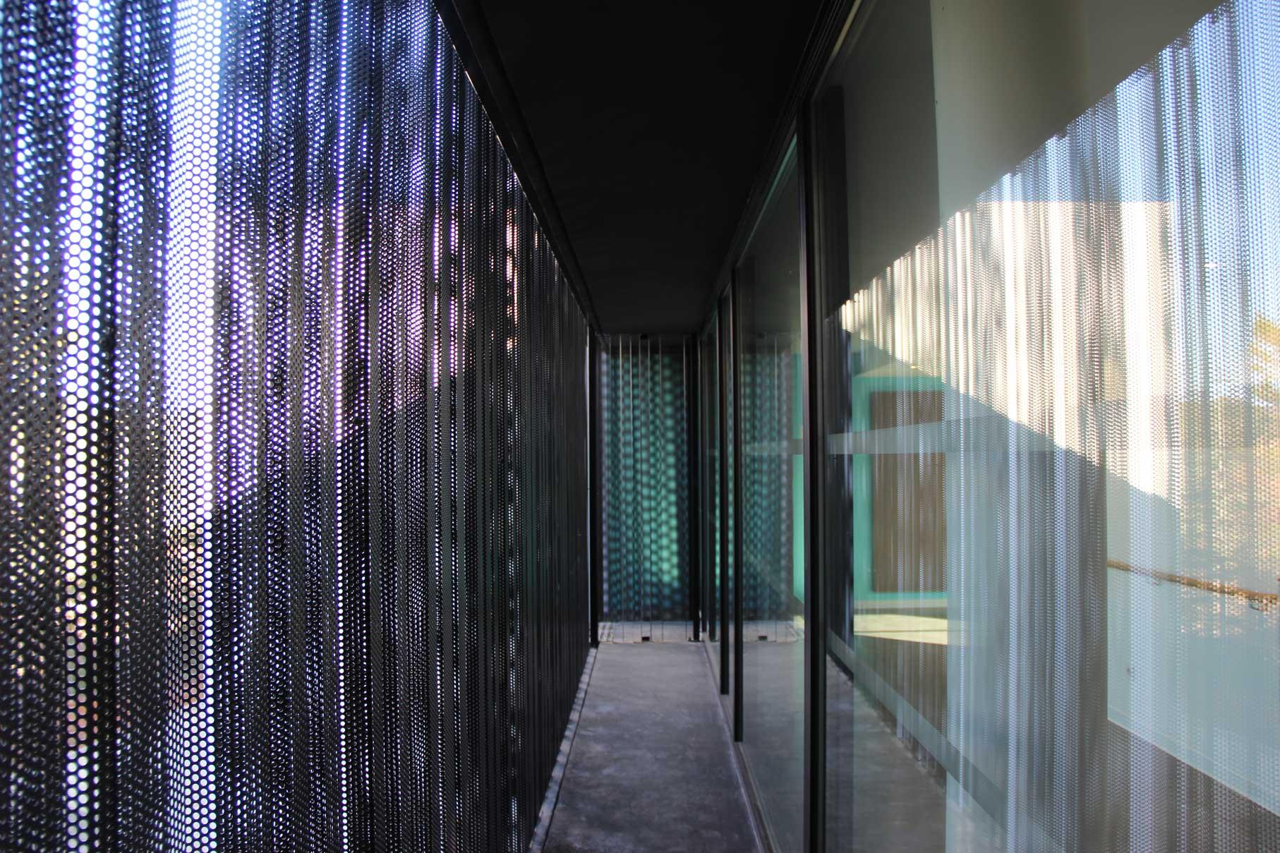 detail couloir exterieur