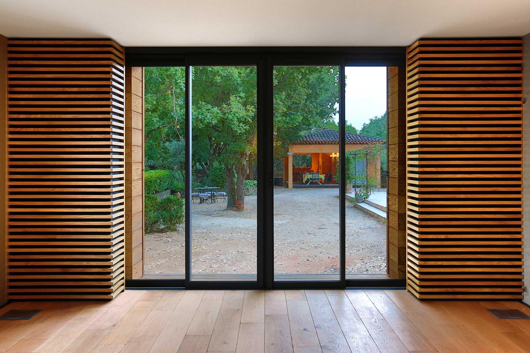 extension villa saint maximin baies vitrees