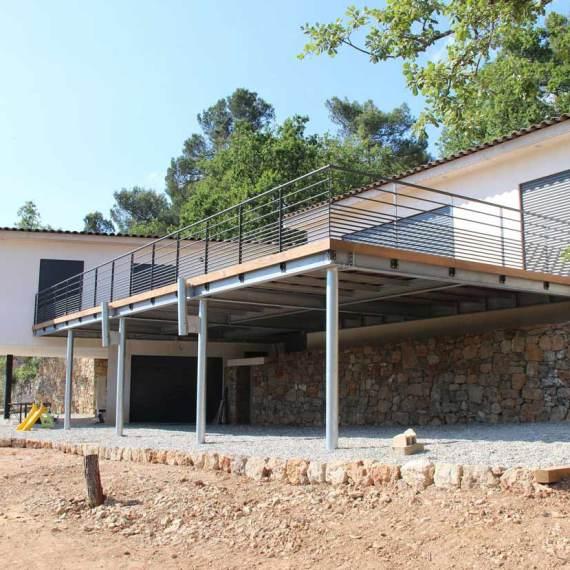 villa rougiers exterieur terrasse contemporain