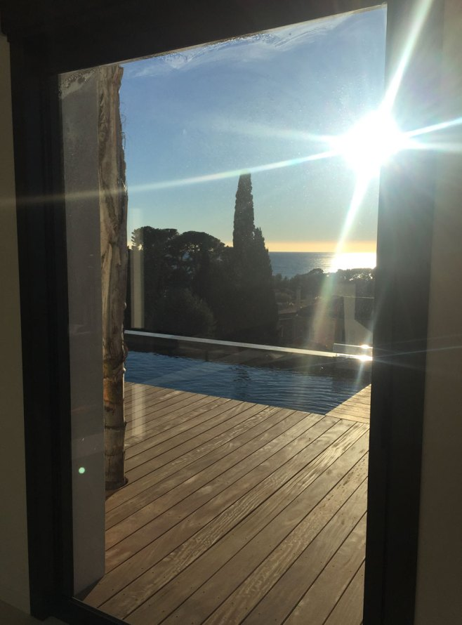terrasse piscine bois