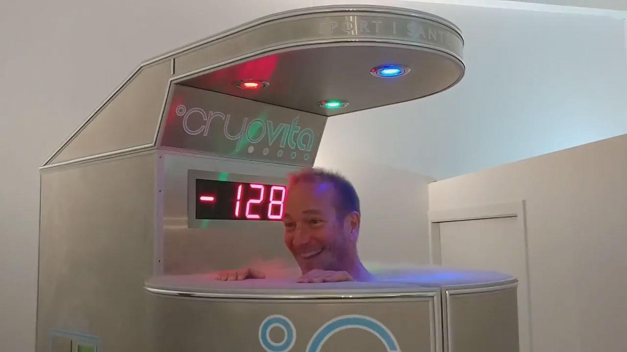 cryothérapie cryosauna azote liquide
